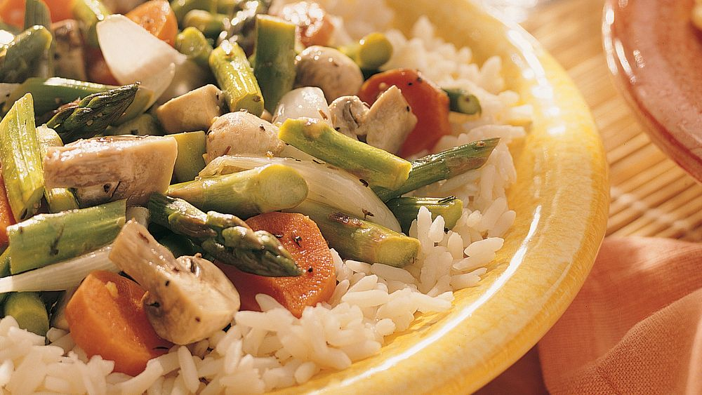 how to cook asparagus in stir fry