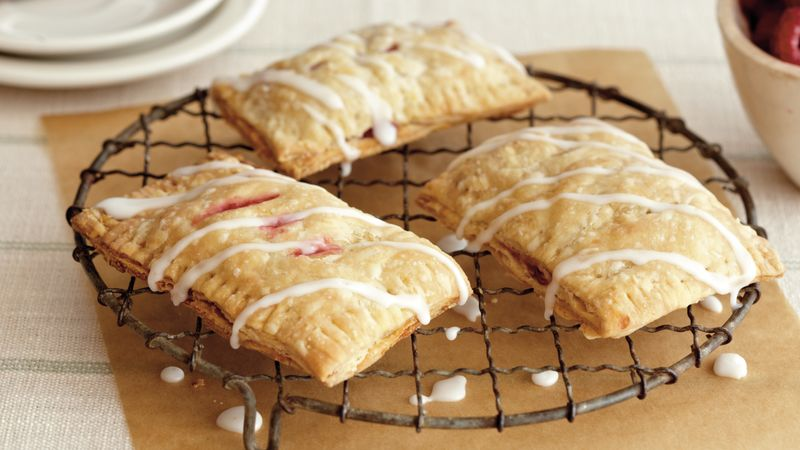 Raspberry-Lemon Breakfast Tarts