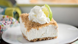Frozen Key Lime Crunch Cake