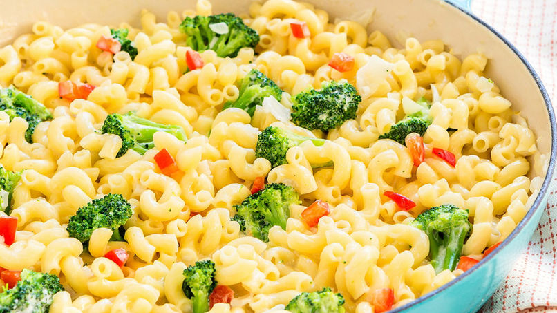 Easy Creamy Pasta with Broccoli