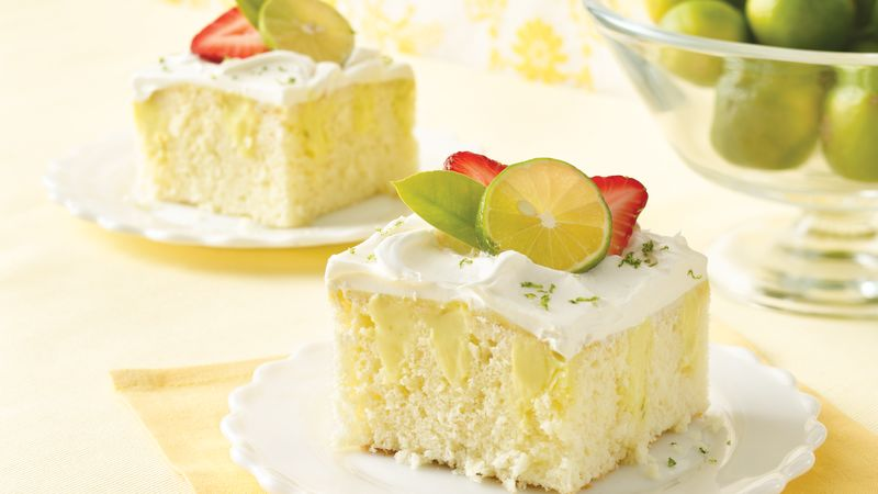 Lemon lime jello poke cake recipe