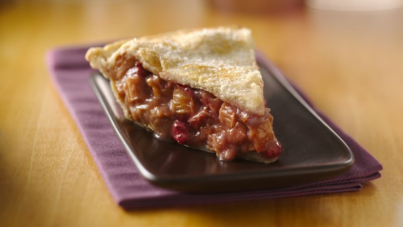 Rhubarb Pie Recipe Bettycrocker Com