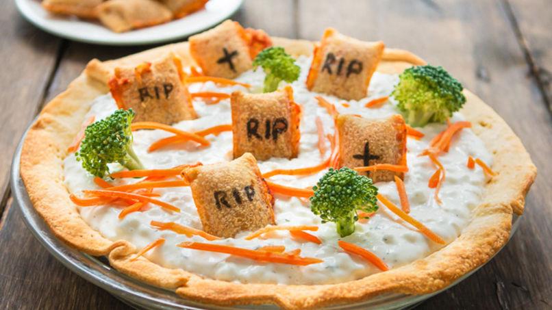 Cementerio de Dip para Halloween