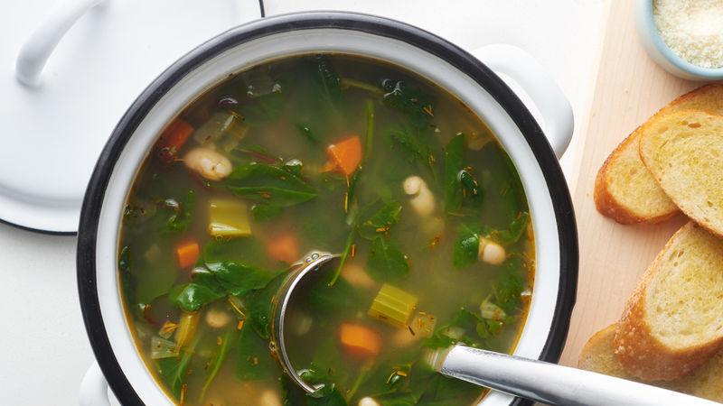Easy Super-Greens Soup