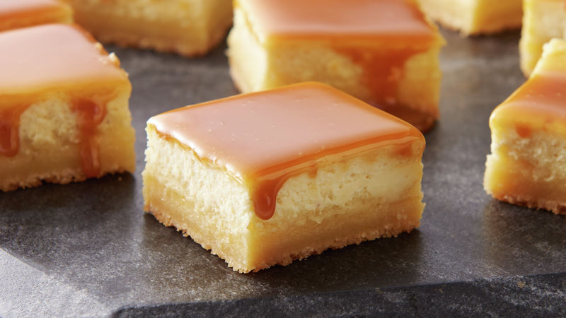 Spike the Eggnog Cheesecake Bars