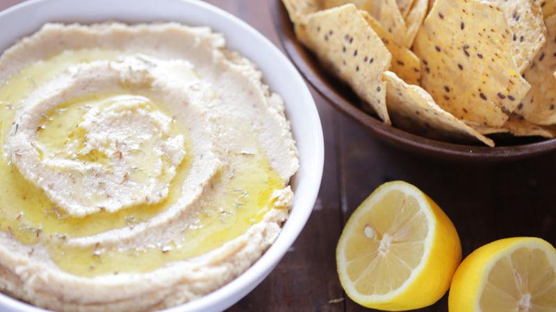 Lemon Thyme Cauliflower Bean Dip