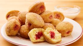 Jam-Filled Doughnut Holes