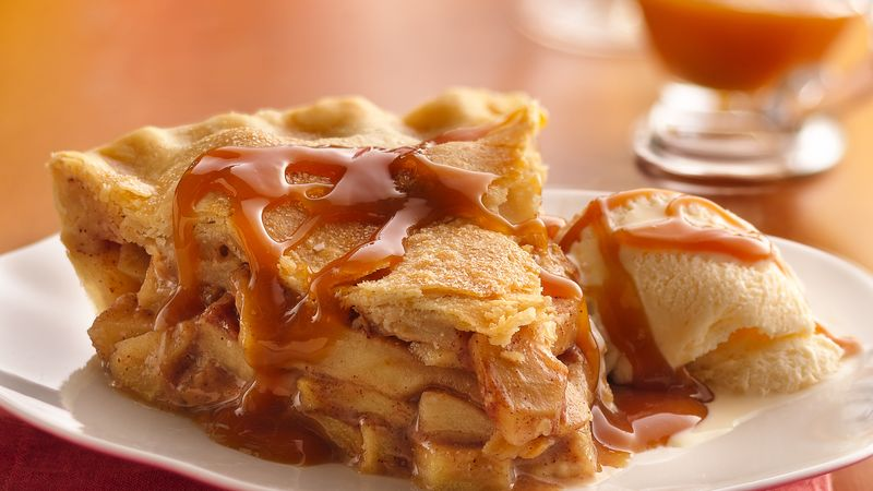 Caramel Apple Pie Recipe Bettycrocker