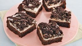 Black-and-White Cake Mix Brownies