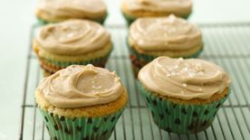 Butterscotch Cupcakes with Salty Caramel Frosting