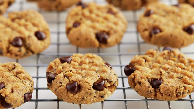 Keto-Friendly* Peanut Butter Cookies