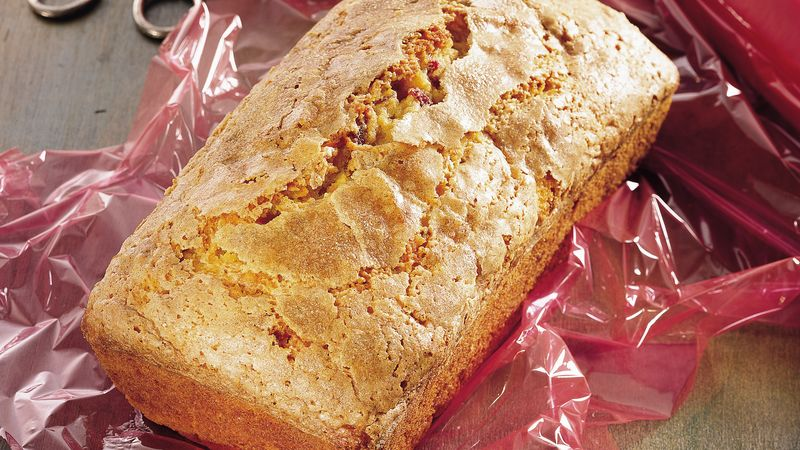 Cranberry-Sweet Potato Quick Bread