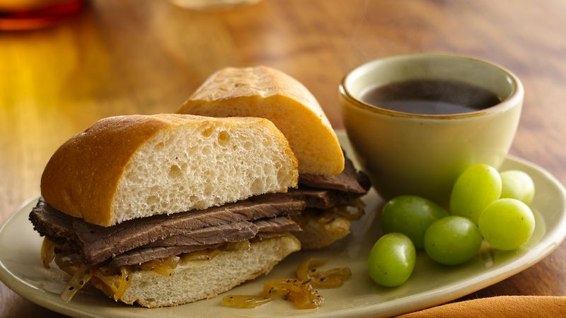 Italian Bistro Hot Beef Sandwiches