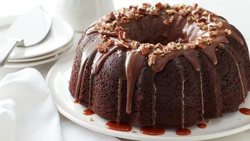 Turtle Bundt Cake Recipe Bettycrocker Com