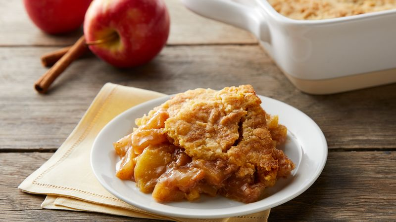 5 Ingredient Apple Dump Cake Recipe Bettycrocker Com