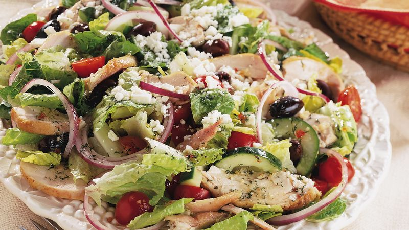Greek Chicken Salad Recipe Bettycrocker