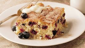 Blueberry Brunch Cake