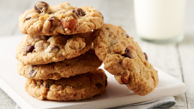 Oatmeal-Chip Cookies
