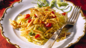 Frozen Asian Cabbage Salad