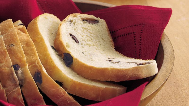 Tangy Olive Bread