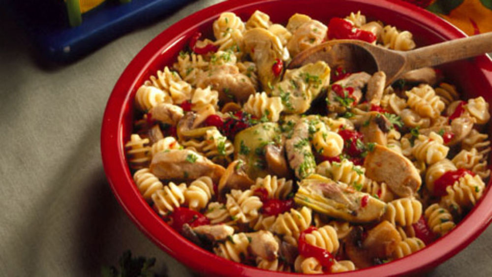 Chicken-Artichoke Toss
