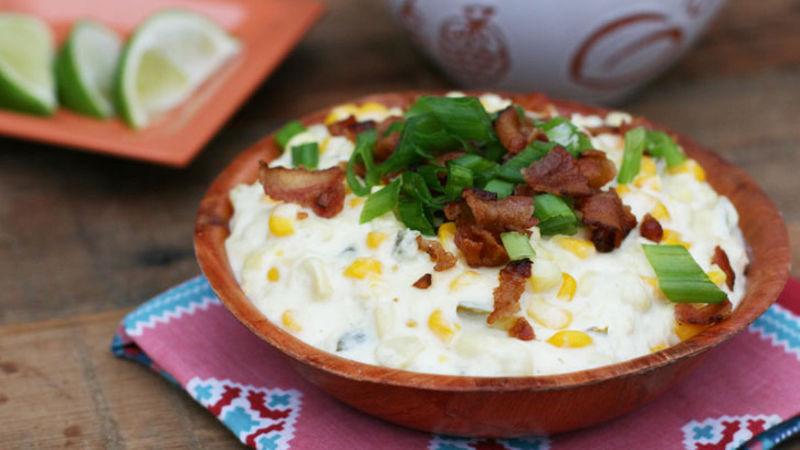 Slow-Cooker Corn-Jalapeño-Bacon Dip
