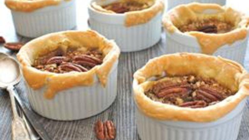 Rustic Ramekin Pecan Pies
