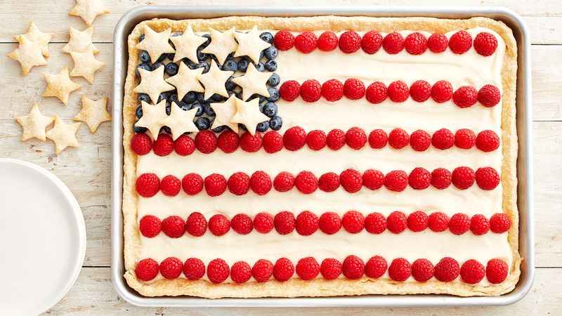 Flag Slab Pie