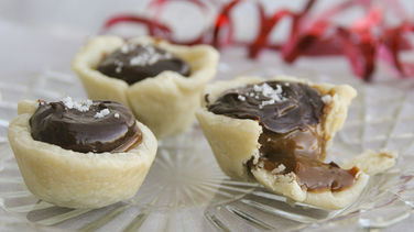 Caramel Chocolate Mini Pies