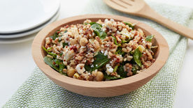 Tuscan Spinach and Chickpea Grain Salad