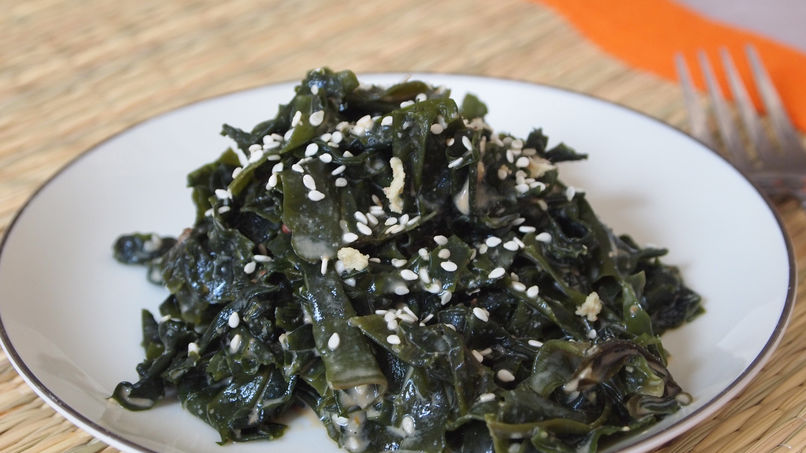 Seaweed and Miso Salad