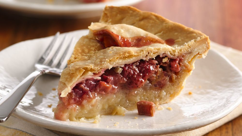 Strawberry-Rhubarb Pie recipe from Pillsbury.com