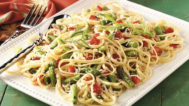 Linguine with Tarragon Vegetables