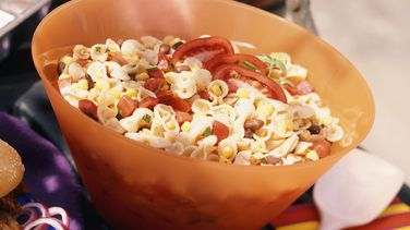 Corn and Black Bean Pasta Salad