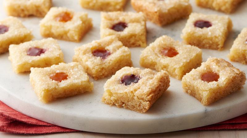 Thumbprint Cookie Bars