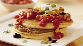Mexican Corn Cakes (Cooking for 2)