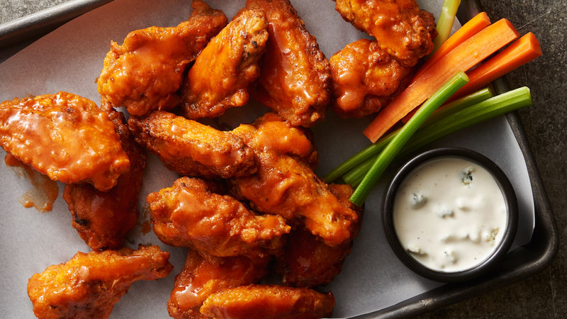 pan fried classic buffalo wings recipe tablespoon com