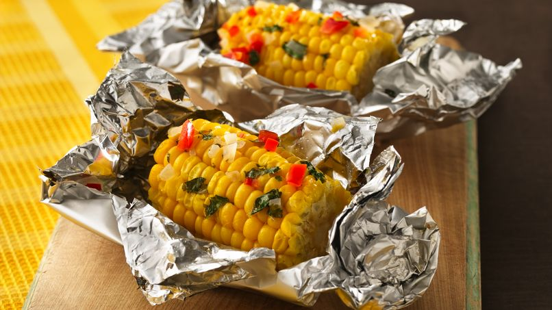 Corn Nibblers® with Tri-Color Lime Butter