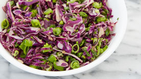 Fresh Sugar Snap Pea Slaw