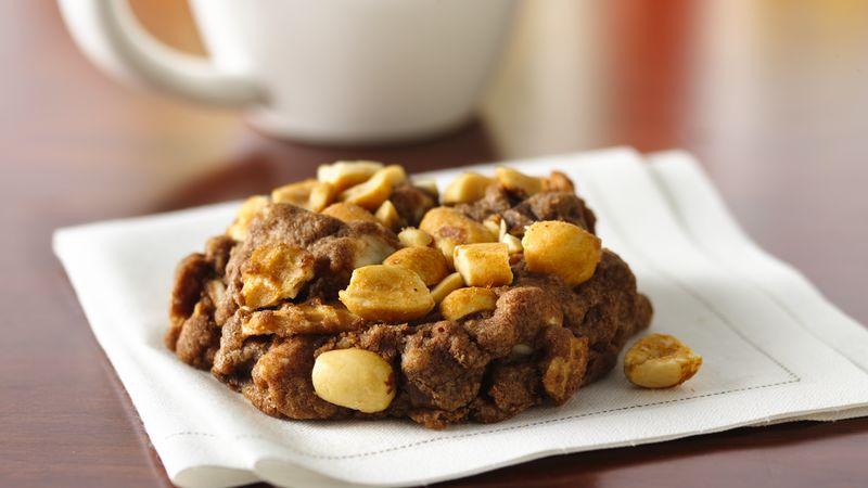 Chocolate Sundae Cone Cookies
