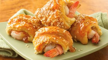 Sweet and Sour Shrimp Puffs