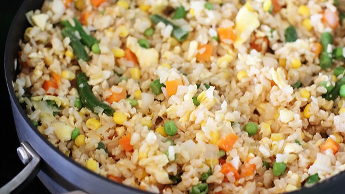 Vegetable fried rice recipe tablespoon also add oyster sauce here if desired continue to saute stirring occasionally for an additional 3 minutes stir in sesame oil and cook for one minute ccuart Image collections