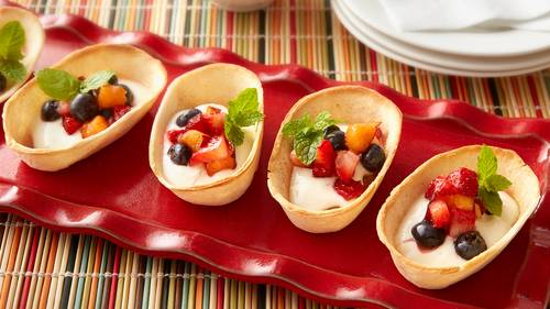 Mexican dessert recipes bettycrocker mini churro taco boats forumfinder Gallery