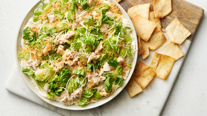 Chicken Caesar Salad Dip