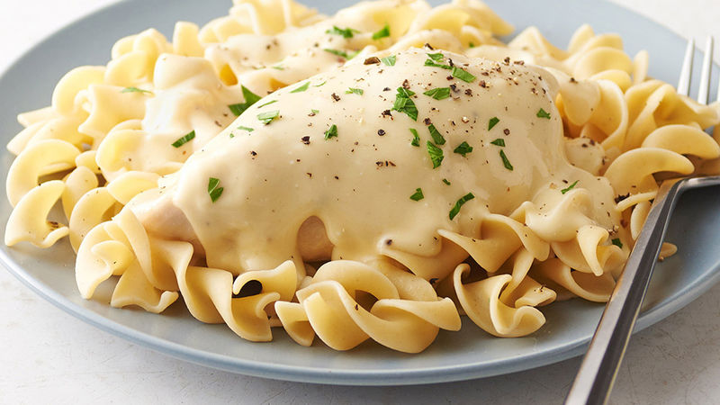 Slow-Cooker Cream Cheese Chicken