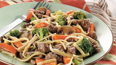 Ground Beef Lo Mein