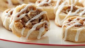 Cinnamon Roll Pie Cookies