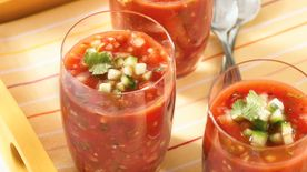 Fire-Roasted Tomato Gazpacho
