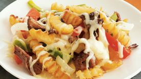 Cheesesteak Smothered Fries