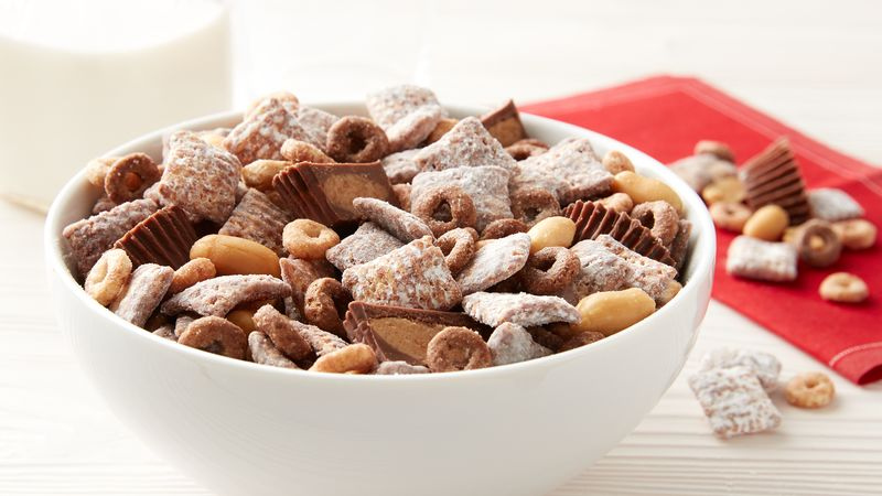 Chocolate Peanut Butter Cheerios™ Chex™ Muddy Buddies™